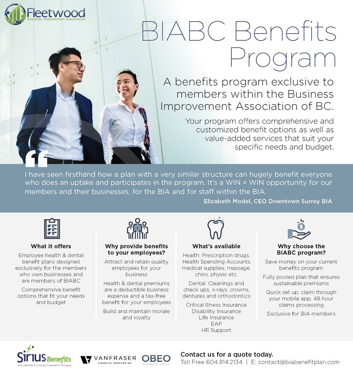 Fleetwood BIA Benefits – Fleetwood Business Improvement